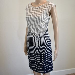 Loft Shift  Stripped Dress
